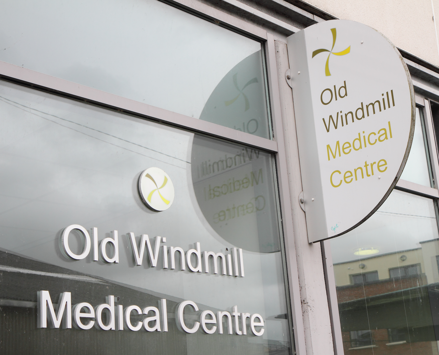 Old Windmill Medical Centre Outside Family Doctor Limerick